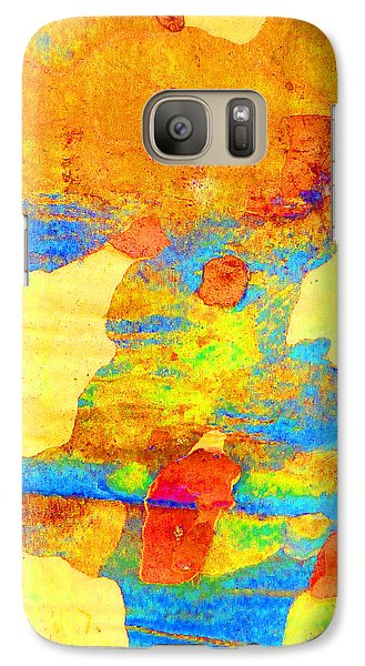 Galaxy Case featuring the photograph Summer Eucalypt Abstract 25 by Margaret Saheed