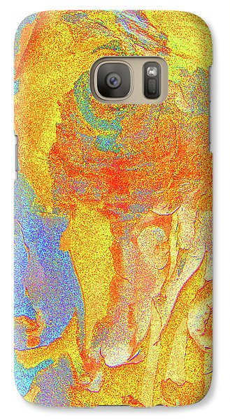 Galaxy Case featuring the photograph Summer Eucalypt Abstract 3 by Margaret Saheed