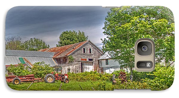 Galaxy Case featuring the photograph Summer Farm by David Bishop