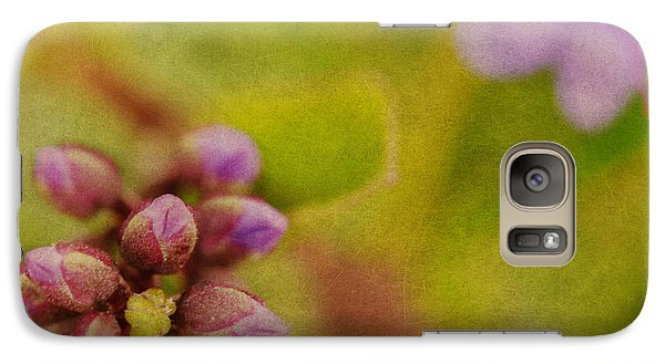 Galaxy Case featuring the photograph Summer Floral Cluster by MaryJane Armstrong