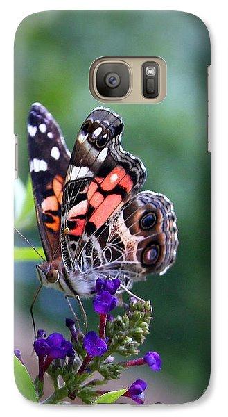 Galaxy Case featuring the photograph Summer Flutter by Geri Glavis