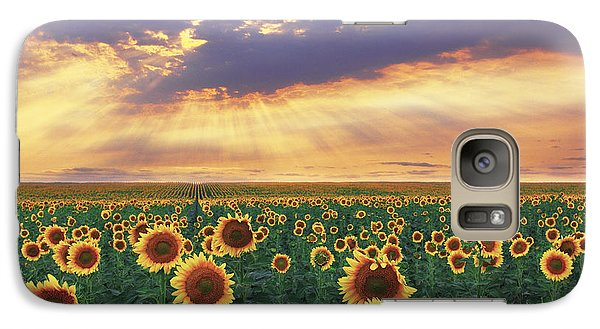 Galaxy Case featuring the photograph Summer Haze by Kadek Susanto