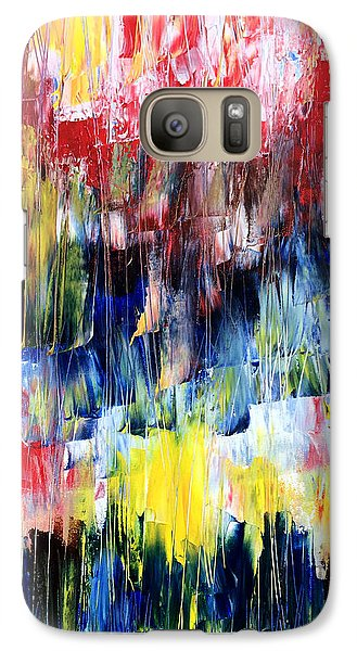 Galaxy Case featuring the painting Summer Haze by Rebecca Davis