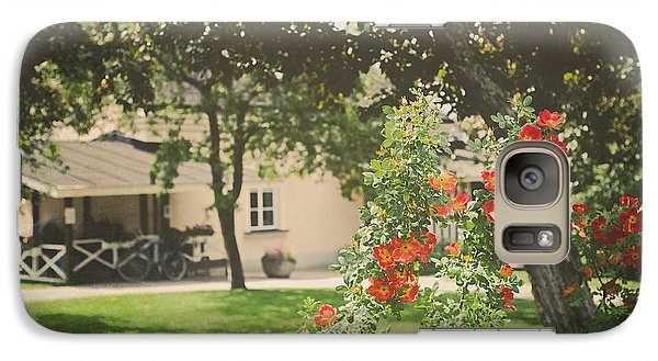 Galaxy Case featuring the photograph Summer In The Park by Ari Salmela