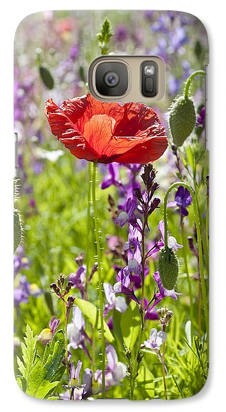 Galaxy Case featuring the photograph Summer by Lana Enderle