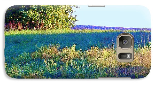 Galaxy Case featuring the photograph Summer Light by Shirley Moravec