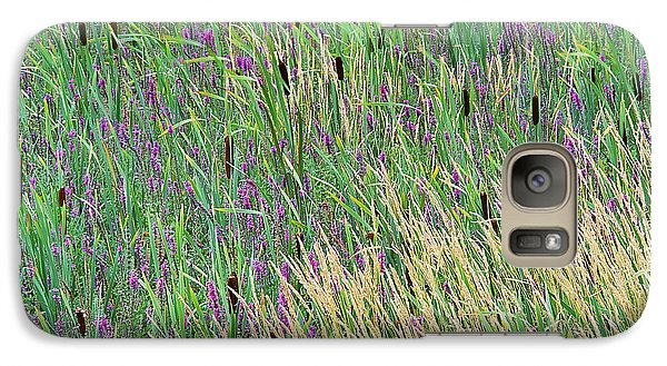 Galaxy Case featuring the photograph Summer Marsh by Alan L Graham