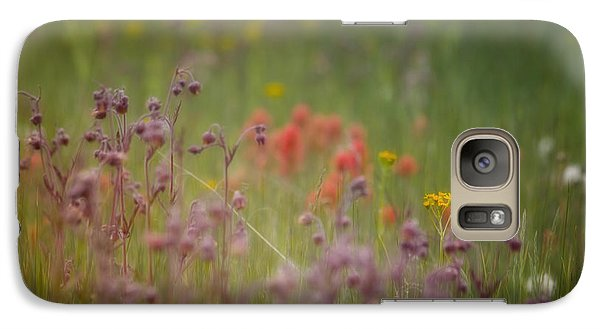Galaxy Case featuring the photograph Summer Meadow by Ellen Heaverlo