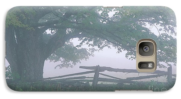 Galaxy Case featuring the photograph Summer Morning Fog by Alan L Graham