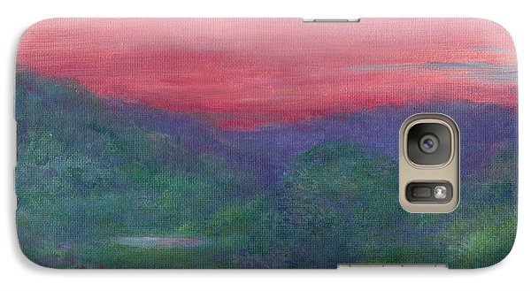 Galaxy Case featuring the painting Summer Nocturne by Judith Cheng