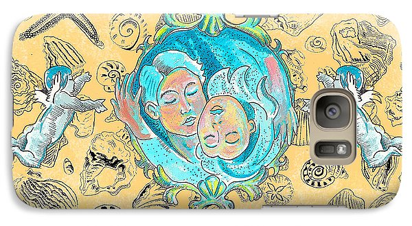 Galaxy Case featuring the painting Summer Of Love by John Keaton