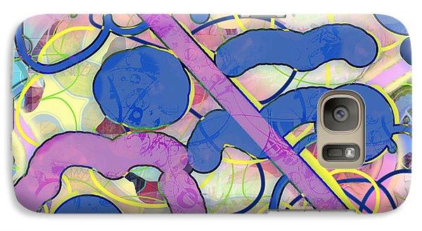 Galaxy Case featuring the digital art Summer On The Way by Gabrielle Schertz