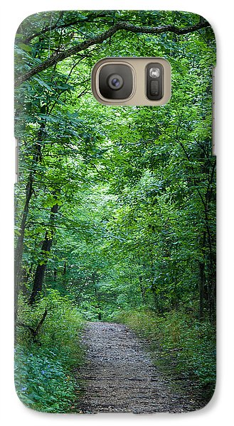 Galaxy Case featuring the photograph Summer Path by Wayne Meyer
