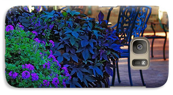 Galaxy Case featuring the photograph Summer Patio by Rowana Ray