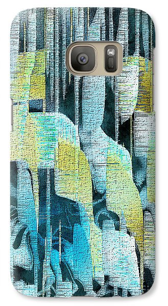Galaxy Case featuring the painting Summer Rain by Yul Olaivar