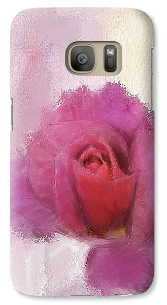 Galaxy Case featuring the digital art Summer Rose by Mary M Collins