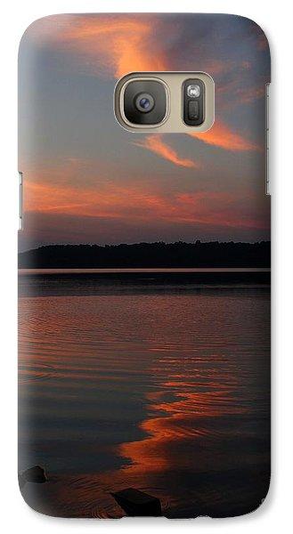 Galaxy Case featuring the photograph Summer Serenity by Geri Glavis