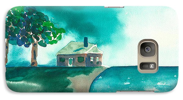 Galaxy Case featuring the painting Summer Storm by Frank Bright