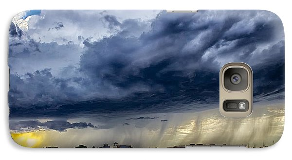 Galaxy Case featuring the photograph Summer Storm Twin Falls Idaho by Michael Rogers