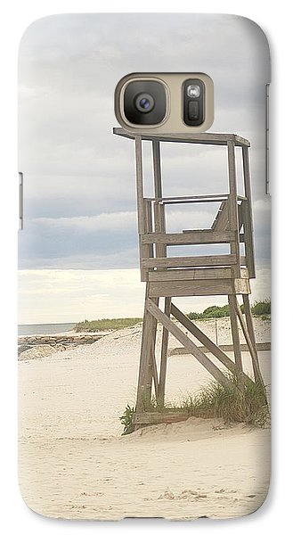 Galaxy Case featuring the photograph Summer Throne Lifeguard Chair by Suzanne Powers