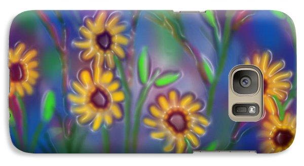 Galaxy Case featuring the digital art Summer Time Sadness by Latha Gokuldas Panicker