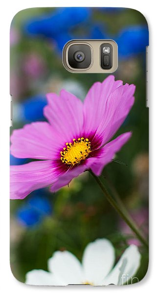 Galaxy Case featuring the photograph Summer Wild Blooms by Matt Malloy