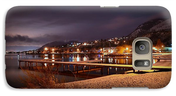 Galaxy Case featuring the photograph Summerland Lakeshore by Guy Hoffman