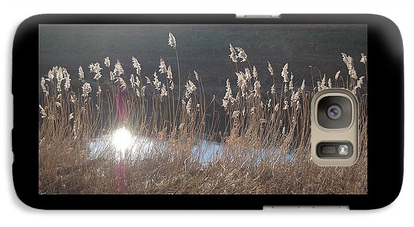 Galaxy Case featuring the photograph Summerlands Setting Sun by Linda Prewer