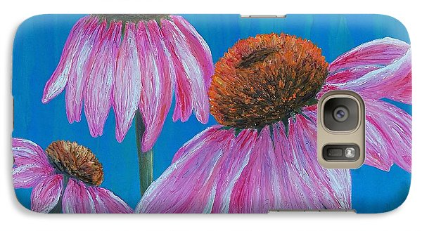 Galaxy Case featuring the painting Summer's Attraction by Susan DeLain