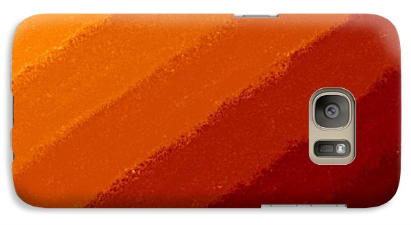 Galaxy Case featuring the digital art Summers End by Andy Heavens