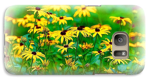 Galaxy Case featuring the photograph Summertime 7 by Ludwig Keck