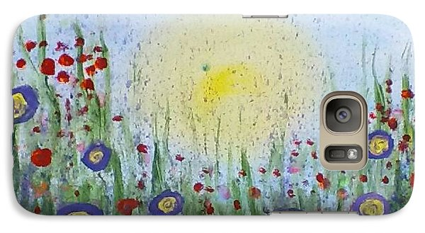 Galaxy Case featuring the painting Summertime by Carol Duarte