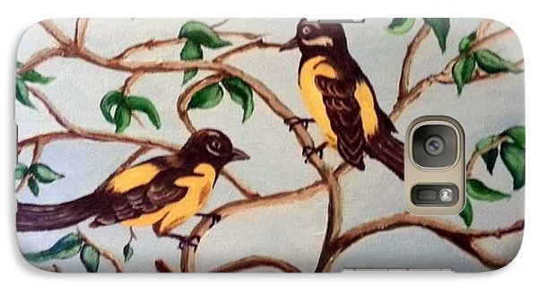 Galaxy Case featuring the painting Summertime by Sheri Keith