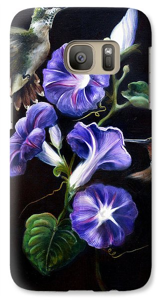 Galaxy Case featuring the painting Sumptuous Delight by Phyllis Beiser