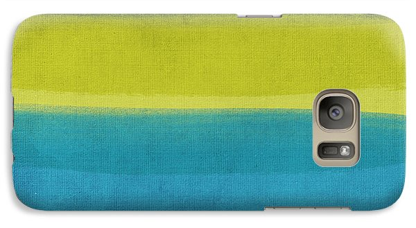 Beach Galaxy S7 Case - Sun And Surf by Linda Woods