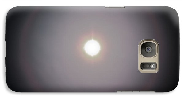 Galaxy Case featuring the photograph Sun Dog by Joel Loftus