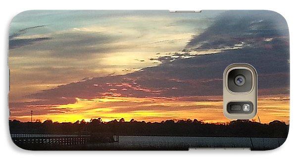 Galaxy Case featuring the photograph Sun Down Destiny by Joetta Beauford