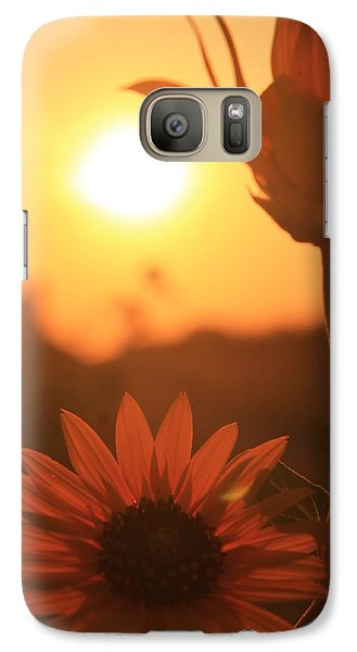 Galaxy Case featuring the photograph Sun Glow by Alicia Knust