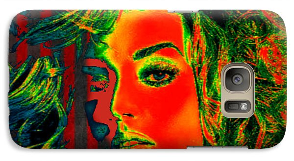 Galaxy Case featuring the digital art Sun Kissed by Digital Art Cafe
