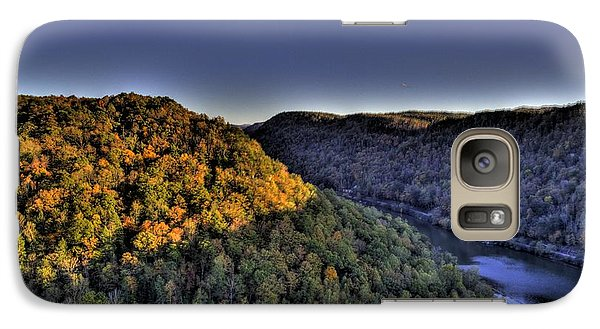 Galaxy S7 Case featuring the photograph Sun On The Hills by Jonny D