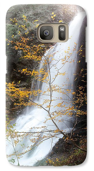 Galaxy Case featuring the photograph Sun Over Dry Falls Nc by Coby Cooper