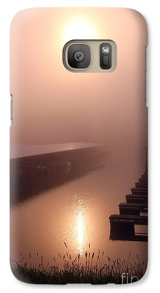 Galaxy Case featuring the photograph Sun Refleting On The Water  by Yumi Johnson