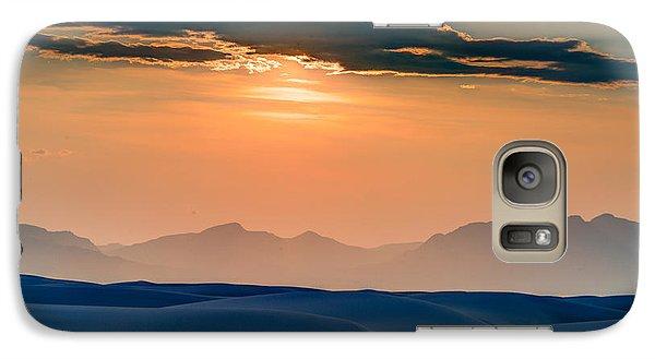 Galaxy Case featuring the photograph Sun Sand Mountains by Allen Biedrzycki