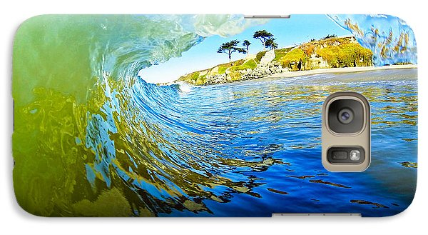 Galaxy Case featuring the photograph Sun Shade by Paul Topp