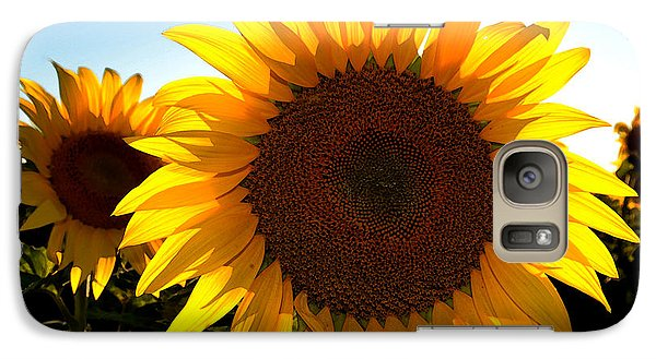 Galaxy Case featuring the photograph Sun Shine 3 Wc 2  by Lyle Crump