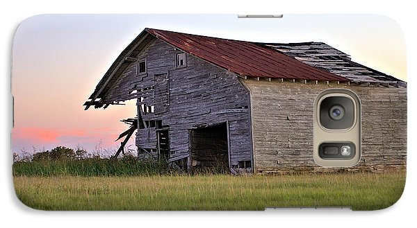 Galaxy Case featuring the photograph Sun Slowly Sets by Gordon Elwell