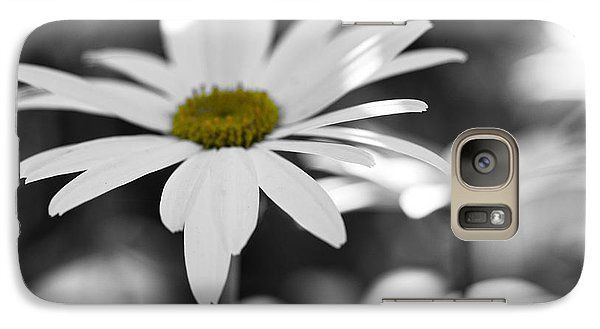Galaxy Case featuring the photograph Sun-speckled Daisy by Don Schwartz