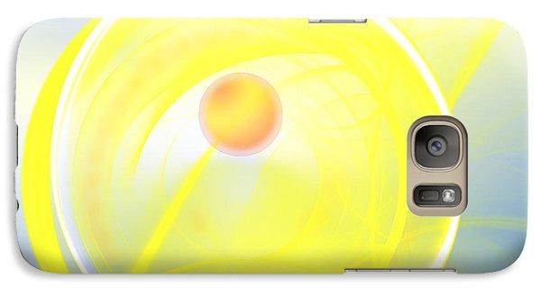 Galaxy Case featuring the digital art Sun Spot by Victoria Harrington