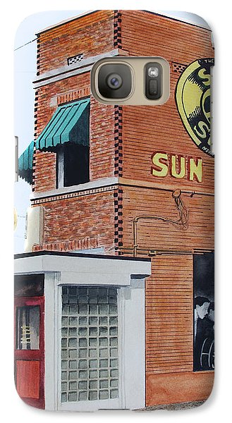 Galaxy Case featuring the painting Sun Studio by Ferrel Cordle