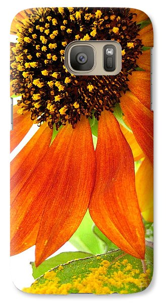 Galaxy Case featuring the photograph Sun Up by Kathy Bassett